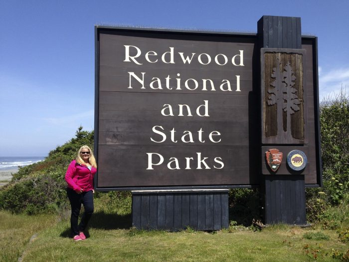Redwood National Park Sign