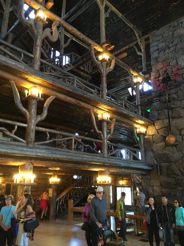 Interior, Old Faithful Inn