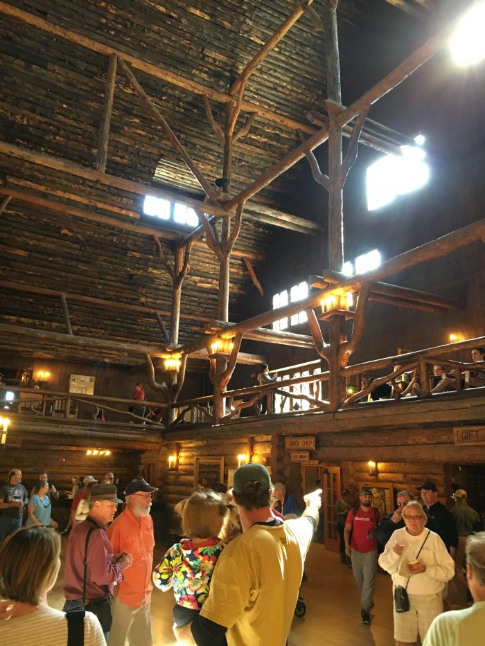 Interior Old Faithful Inn