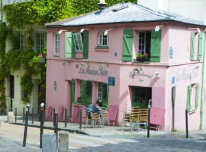 La Maison Rose, Montmartre, Paris France