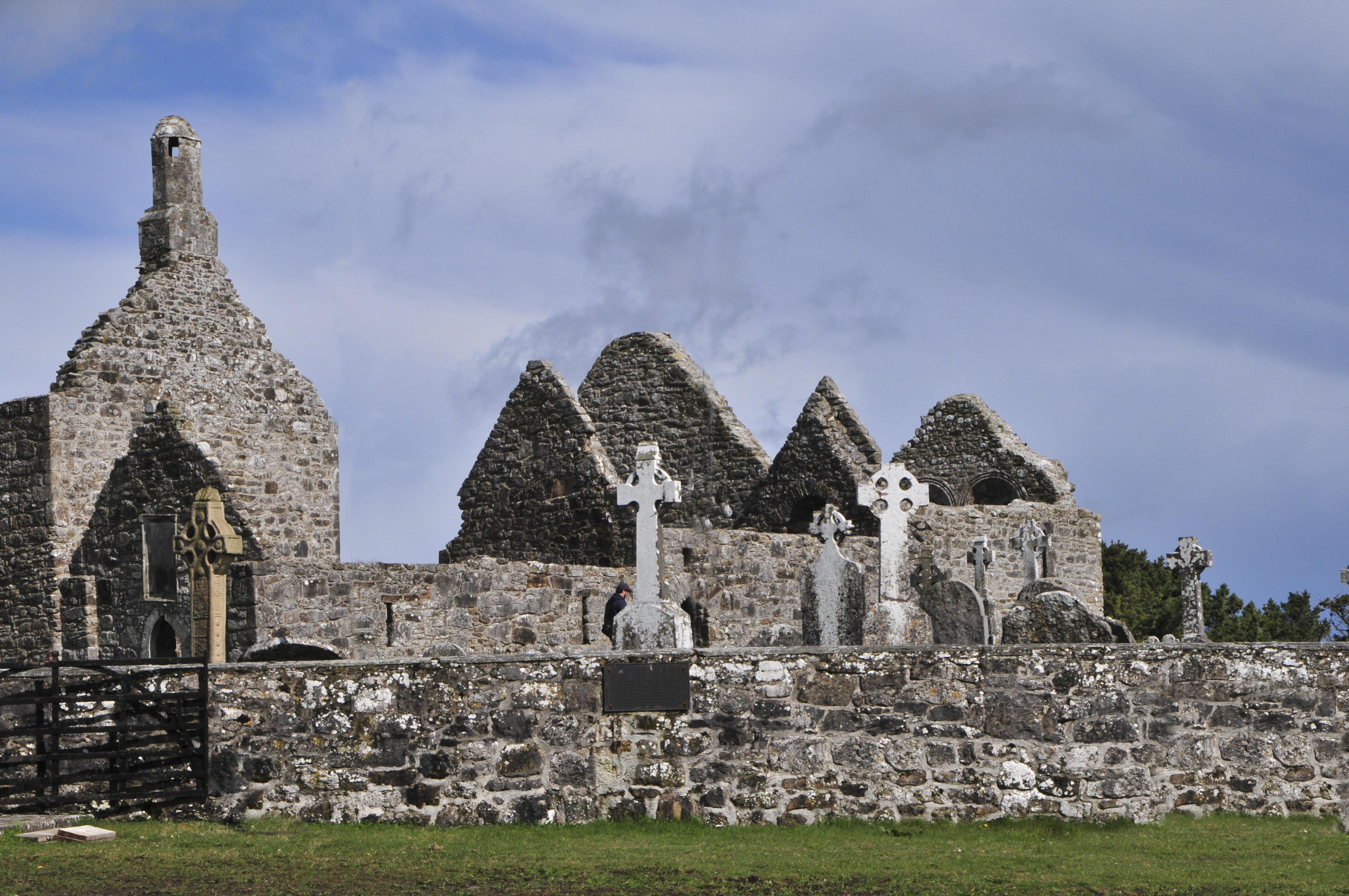 Cross of the Scriptures, Clonmacnoise Ireland