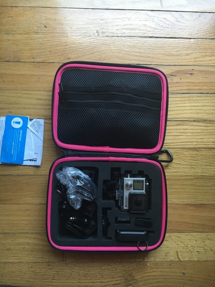 Go Pro Camera and Case
