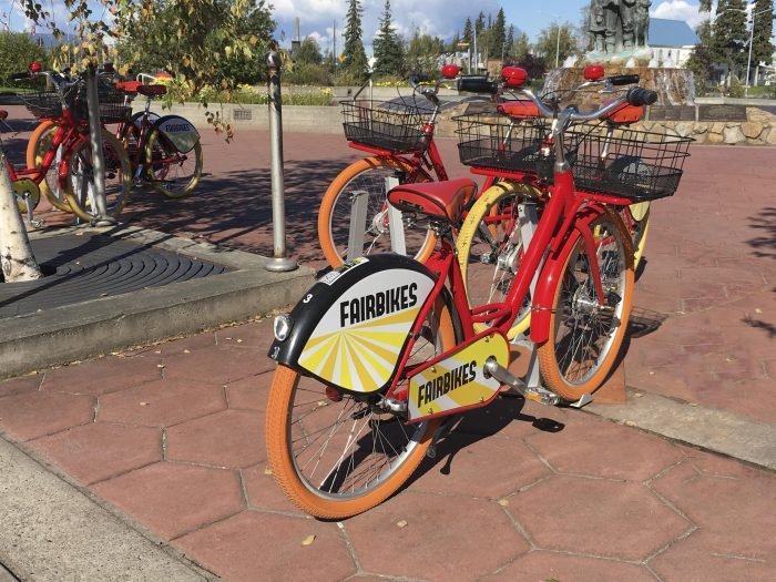 Bicycle For Rent Fairbanks