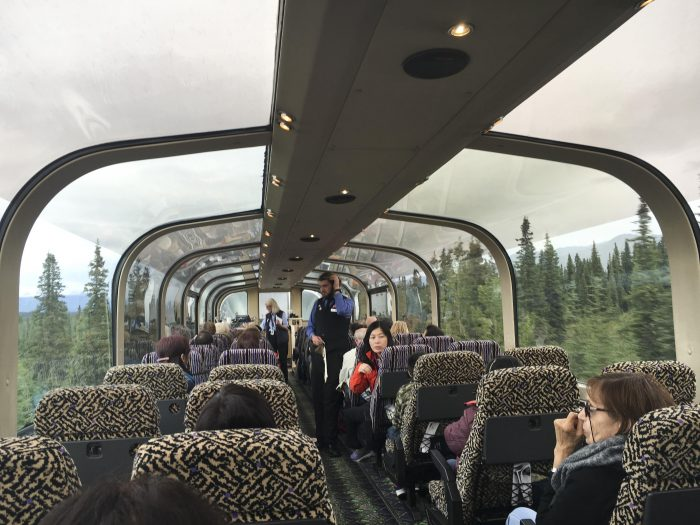 Clear Domed Train