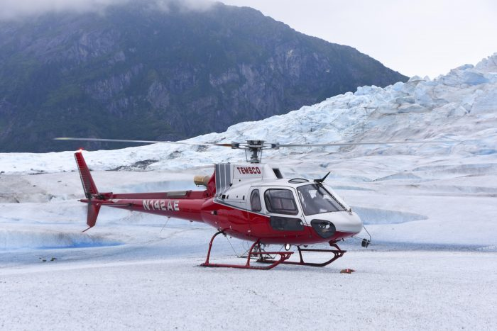 Helicopter Tour of Mendenhall Glacier