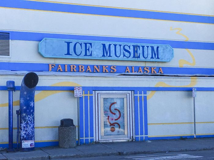 Ice Museum Fairbanks, AK