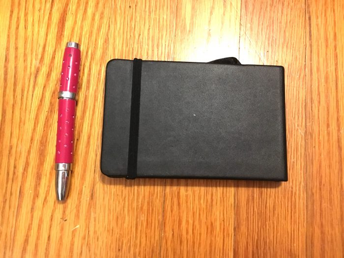 Mini Sketchbook & Fountain Pen