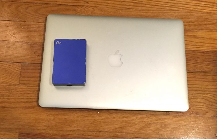 Macbook Pro and 4TB External Hard Drive