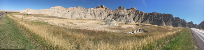 Panorama, Badlands National Park