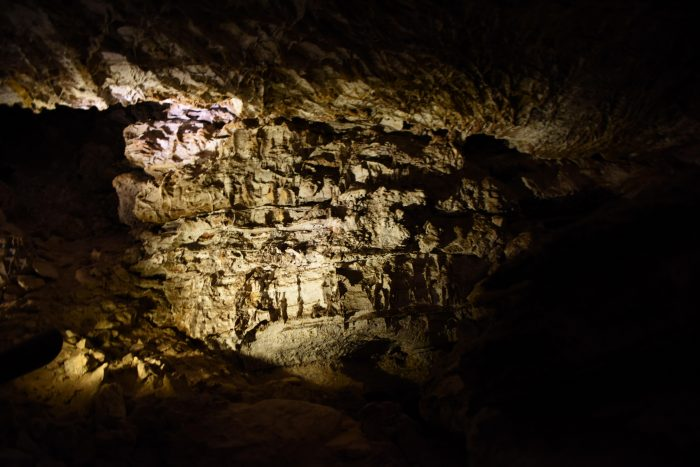 Inside Wind Cave