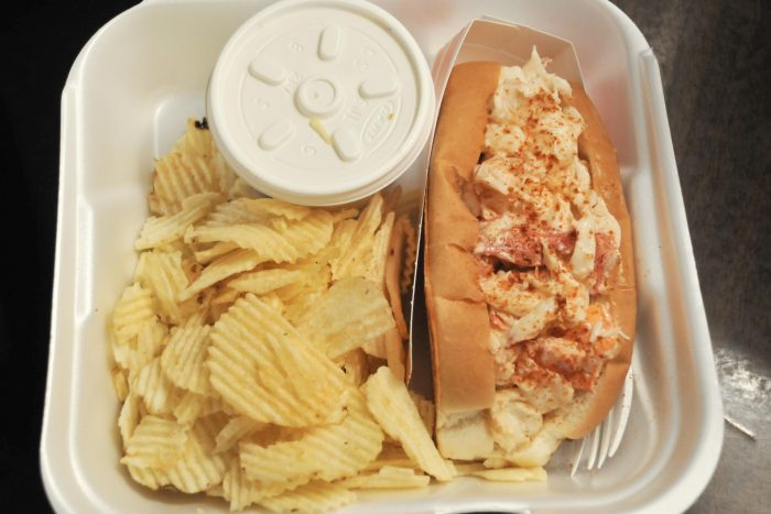 Lobster Roll from Maine